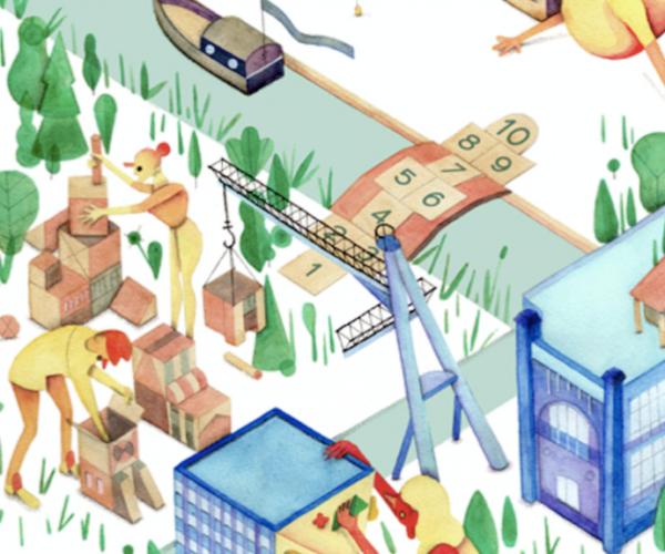 Organiseer organische gebiedsontwikkeling in de Merwedekanaalzone
